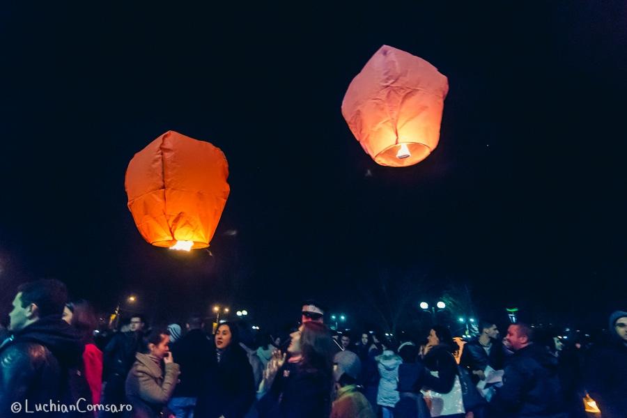 Festivalul lampioanelor Parcul Tineretului