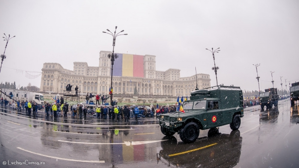 Parada 1 Decembrie 2014 - Casa Poporului Bucuresti