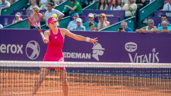 Tenis - Simona Halep vs Indy de Vroome - Arenele BNR Bucuresti 2014