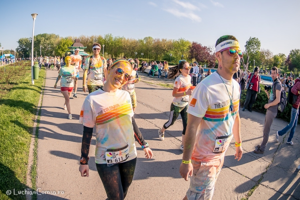 The Color Run - Bucharest - Romania 2014