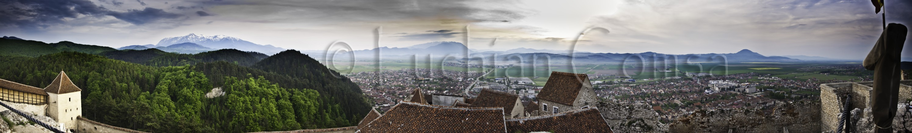 Panorama Rasnov