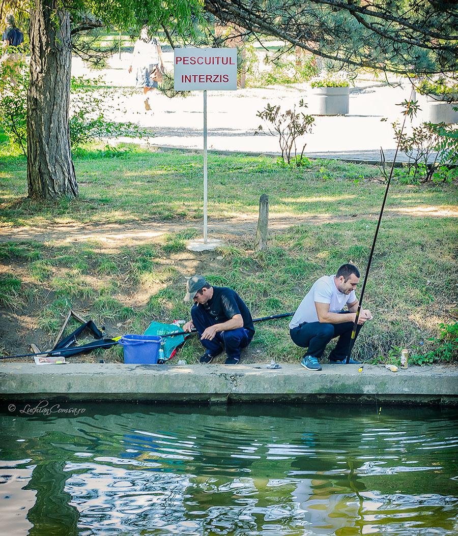 Ca la noi la nimenea: Pescuitul interzis!