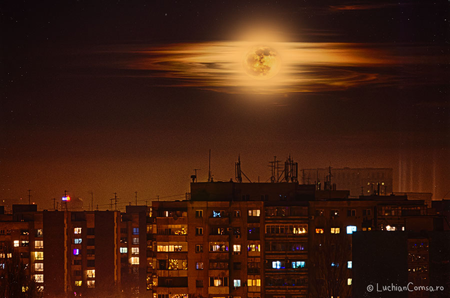 Luna plina la sfarsit de an!