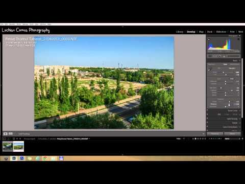 Prezentare + Workflow Lightroom si Photoshop