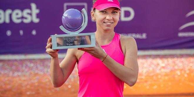 Finala BRD Bucharest Open: Simona Halep vs Roberta Vinci (6-1, 6-3)