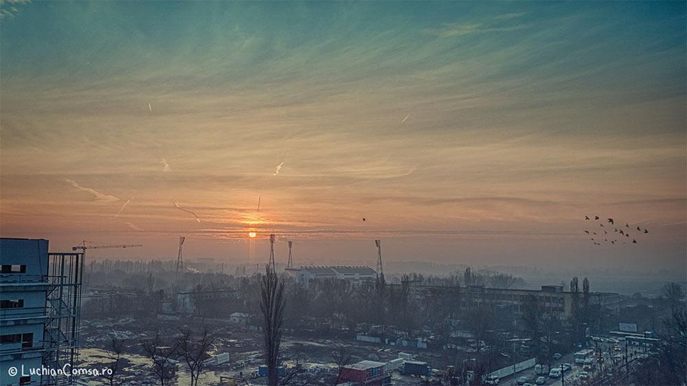 Dupa mai bine de o luna, soarele se arata peste Bucuresti!