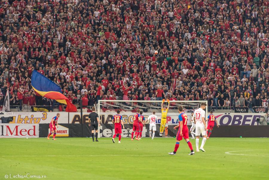 FC Steaua Bucuresti VS Dinamo Bucuresti – Fotbal ( VLOG & POZE)