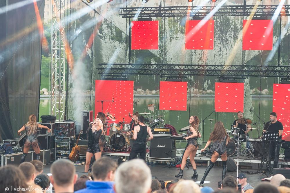 Andreea Balan Concert Ziua Copilului Parc Dr-Taberei