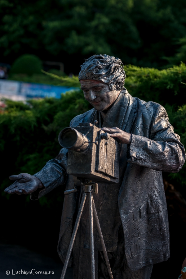 Teatrul Masca - Statui Vivante 2014 - Parcul Herastrau
