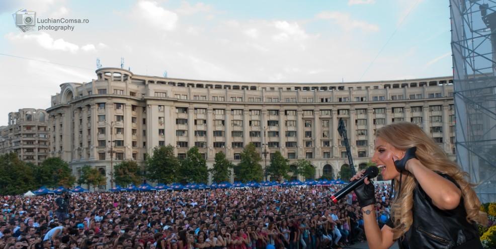 Andreea Banica – Zilele Bucurestiului 2011 (Poze)