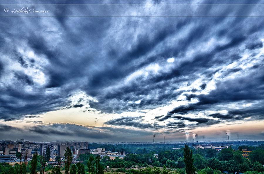 Cerul din Bucuresti