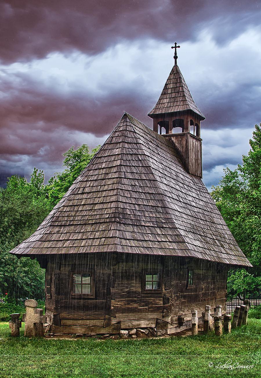 Biserica de lemn @ Muzeul Taranului Roman