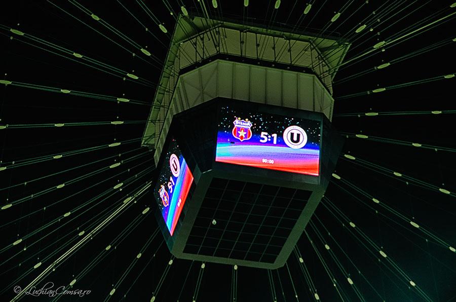 FC Steaua Bucuresti – Universitatea Cluj 5-1 (POZE)