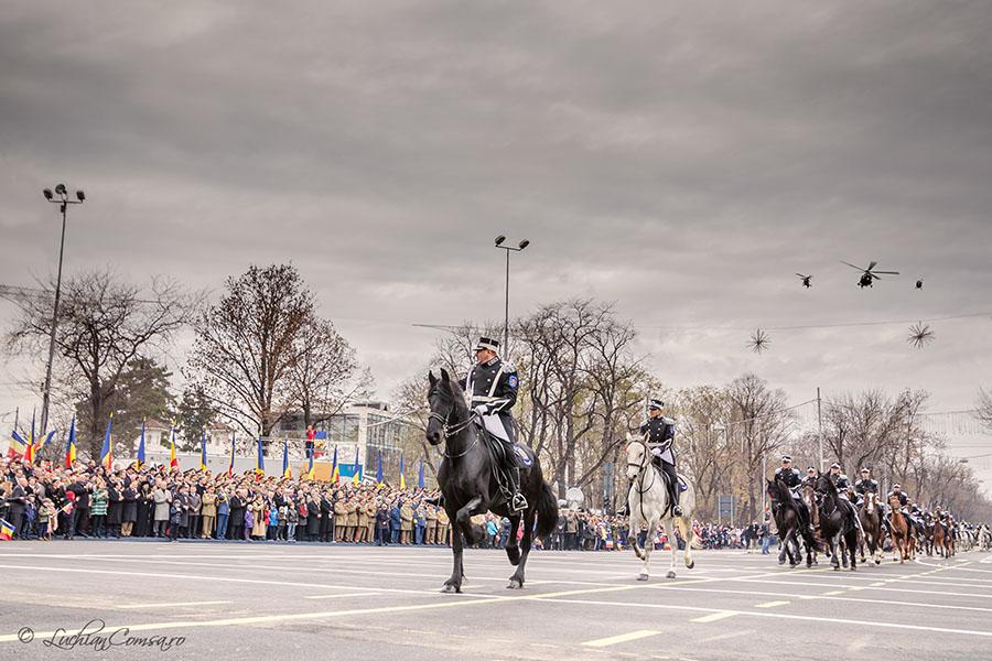 Parada militara 1 decembrie 2012 – Bucuresti (Poze + Panorama)