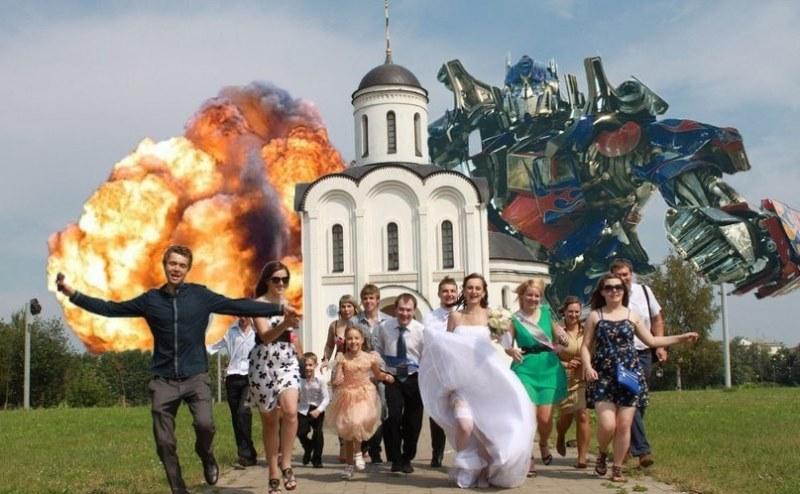 Cum sa nu editezi fotografiile de la nunta (Funny-Round 1)