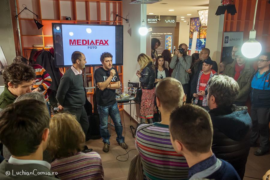 Lansare Album Mediafax 2013 - Cafenea F64 Bucuresti