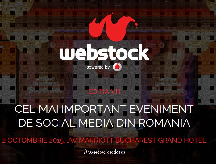 Prezent! @ Webstock 2015 | Blogger acreditat