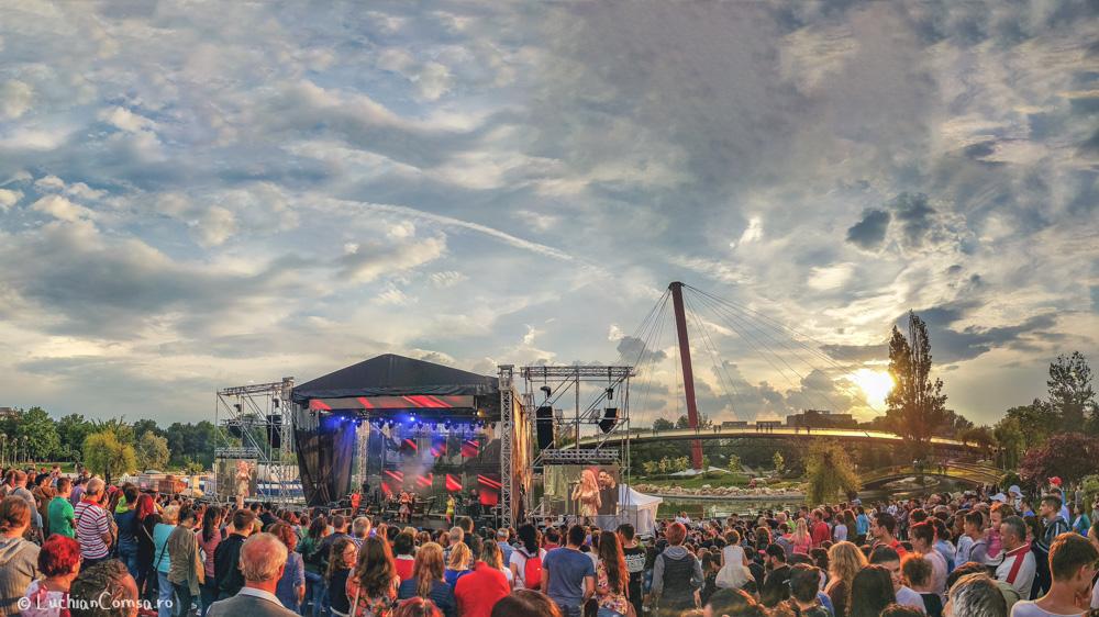 Concert Ziua Copilului – Andreea Balan si 3 Sud Est @ Parcul Drumul Taberei